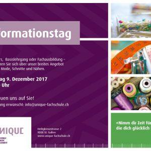 Informationstage Mode und Schnitt Kurse