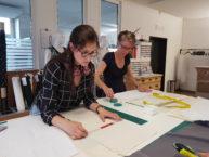 Schnitt zeichnen - Modefachschule